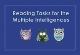 Reading Tasks for the Multiple Intelligences.