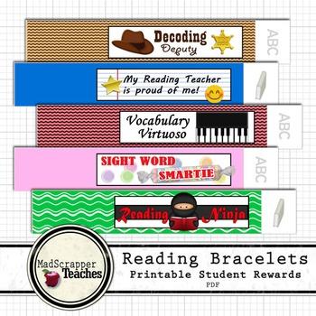 Reading Teacher Basic Skills Language Arts Reward Bracelet
