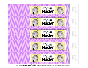 Computer Teacher Tech Lab Reward Bracelets Printable Bracelets