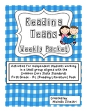 Reading Teams - Reading Literature Standards - Grade 1