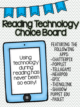 Reading Technology Choice Board