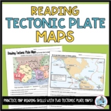 Reading Tectonic Plate Maps