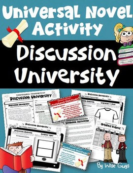 Reading Activity for Any Novel Unit