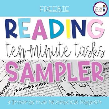 Reading Ten-Minute Task SAMPLER