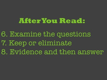 Reading Test Attack: Reading Test-Taking Strategies Song and Video