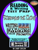 """SBAC Reading & Writing Test Prep & Guide 1 Article """"Destroying the Enemy"""""""