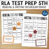Reading Test Prep 5th Grade Vocabulary Bingo