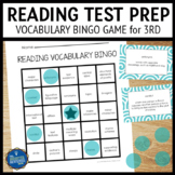 Reading Test Prep 3rd Grade Vocabulary Bingo