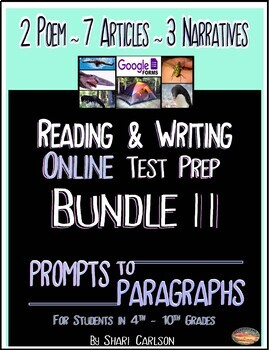Reading Test Prep One    6 Hi-Lo Passages, Questions & Guide