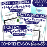 Reading Comprehension Passages and Questions - Bundle - grades 4-6