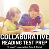 Reading Test Prep Bundle: 100+ Mini Passages, Task Cards,