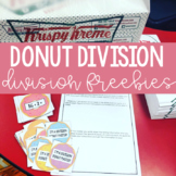 Division Practice | Donut Themed Division Printables