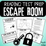 Reading ELA Test Prep Escape Room! Middle School.  (STAAR)