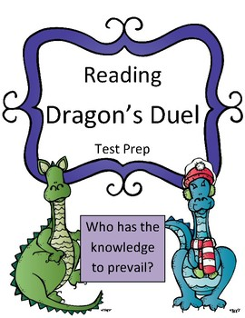 Reading Test Prep (Fiction and Nonfiction Text) Dragon's Duel Review Game
