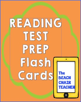 Reading Test Prep Flash Cards Figurative Language Text Features