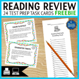 Reading Skills Review Task Cards FREE