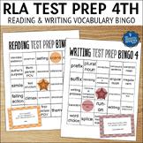 Reading Test Prep 4th Grade Vocabulary Bingo