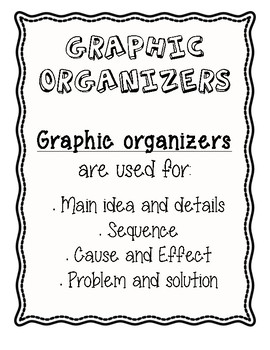 Reading Test Prep Graphic Organizers