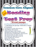 Reading Test Prep Packet-Common Core Aligned Grade 3