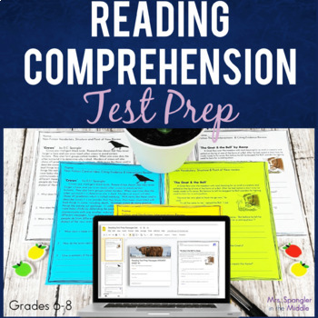 Parcc Short Comprehension Passages With Questions Worksheets