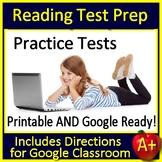 Reading Test Prep Bundle - Printable AND Google Ready ELA