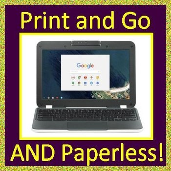 Reading Test Prep Bundle - Printable AND Google Ready ELA Passages and Questions