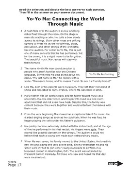 READING TEST PREP - Context Clues
