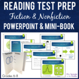 Reading Test Prep Standards Review Mini Book and PowerPoin