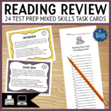 Reading Test Prep Task Cards