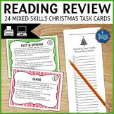 Christmas Reading Mixed Skills Task Cards