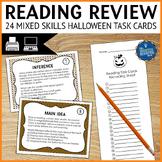Halloween Reading Skills Task Cards
