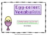 Reading Test Prep Vocabulary Game