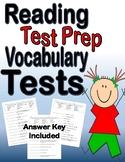 Reading Test Prep Vocabulary Tests