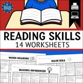 Test Prep Reading Worksheets