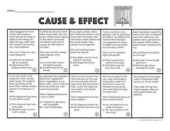Test Prep Reading Skills Worksheets