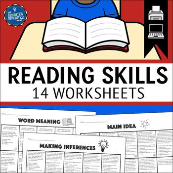 Reading Skills Worksheets