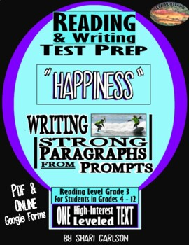 """Reading & Writing Test Prep:  1 Hi-Lo   Text """"What's Your Passion?"""""""