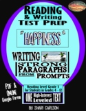 "SBAC READING & WRITING Test Prep & Guide ~ 1 ARTICLE ~ ""HAPPINESS"""