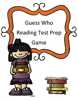 Reading Test Review Game: Guess Who Theme (Nonfiction Passage)