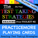 Reading Test Taking Strategies - Playing Cards (from Toolkit #2)