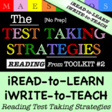 Reading Test Taking Strategies - Read and Write (from Toolkit #2)