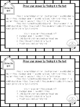 Reading Test Taking Tips and Skill Review Mini-Book