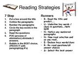 Reading Testing Strategies Posters