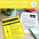 Reading Text Codes {An Annotation Guide}