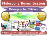 Reading & The Value of Literacy (P4C - Philosophy For Children) [Lesson] (Boxes)