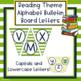 Reading Theme Alphabet Bulletin Board Letters