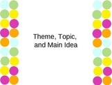 Reading:  Theme, Topic, and Main Idea using Gradual Release