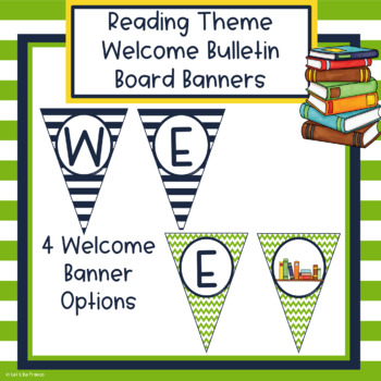 Reading Theme Welcome Banners