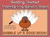 Reading Themed Thanksgiving Bulletin Board