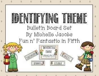 Reading Themes Bulletin Board Set